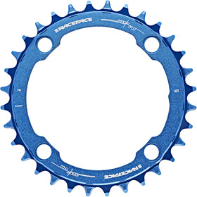 Race Face Narrow Wide Chainring 4-bolt 10/11/12-speed blau